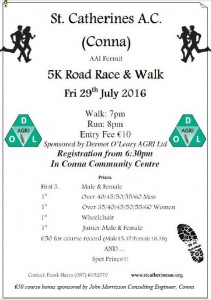 Conna Road Race 2016