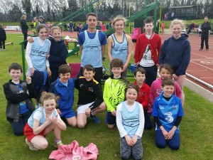 Juvenile athletes take part in East Cork T&F in CIT