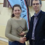 Sarah Mulcahy - Most Improved Juv